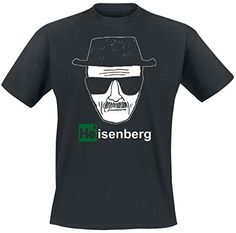 Breaking Bad - Camiseta Heisenberg - Negro #camiseta #friki #moda #regalo