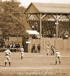 1887 Baseball Game