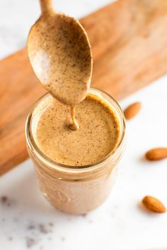 PIN THIS --> Chili Almond Dressing