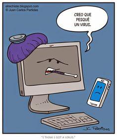 Virus informático #Spanish jokes for kids #chistes visuales #Jokes in Spanish
