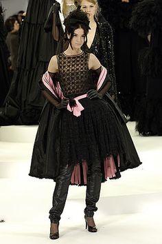 Chanel Fall 2005 Couture Fashion Show - Freja Beha Erichsen