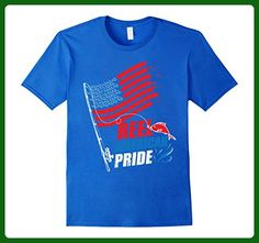 Mens Reel American Pride Fourth Of July 4th Fishing T-Shirt Medium Royal Blue - Holiday and seasonal shirts (*Amazon Partner-Link)