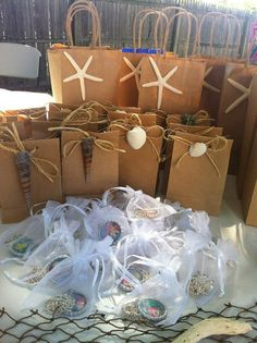 Large and Small Under the Sea Themed Goodie Bags by MyFashionLove, $20.00