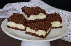 Dezerty Archives - Page 4 of 6 - chillin. Sweet Desserts, Sweet Recipes, Czech Recipes, Ethnic Recipes, Bread And Pastries, Healthy Cookies, Sweet Cakes, Desert Recipes, No Bake Cake