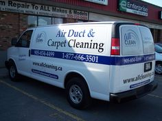 Custom Van Graphics using a combination of Plot Cut Vinyl, Printed and Laminated Graphics and perforated window vinyl.  www.greatsigns.ca