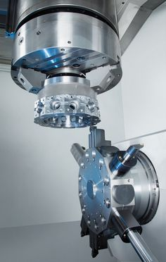 ◆ Visit ~ MACHINE Shop Café ◆ (VLC 800 MT: Complete CNC Machining of Turret Discs)