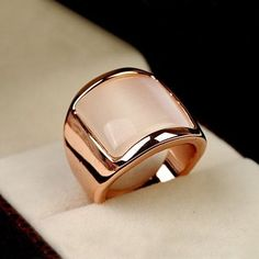 Rose Gold Engagement Ring, Vintage Engagement Rings, Jewelry Gifts, Jewelry Accessories, Jewellery, Bijoux Or Rose, Cats Eye Stone, Stone Rings, Beautiful Rings