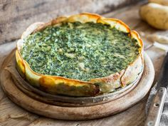 So geht Torte - Kartoffeltorte mit Spinat und Ricotta