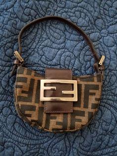 790da4419934 Authentic Vintage Fendi Croissant Bag