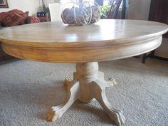 Antique Oak Lion S Head Amp Claw Foot Table C 1900 1910