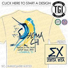 TGI Greek - Sigma Chi - Greek Apparel - #SigmaChi #Recruitment