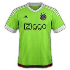 maillot Ajax 2015 2016 exterieur