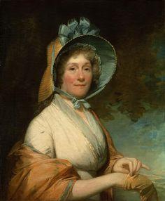 1800 Gilbert Stuart (1755-1828). Henrietta Marchant (Mrs. Robert Liston).