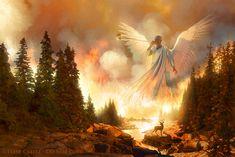 REVELATION — Creitz Illustration Studio Heaven Art, Angel Pictures, Trumpet, Faith, Writings, Studio, Illustration, Painting, Apocalypse