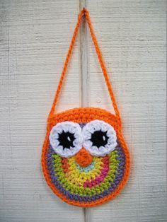 Owl Purse/Coin Purse/ Owl Bag by MaddysNana on Etsy