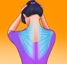 5 Minute Exercise to Relieve Neck Pain Arm Muscles, Shoulder Muscles, Hourglass Workout, Double Menton, Stiff Neck, Six Pack Abs Workout, Muscle Spasms, Double Chin, Thigh Exercises