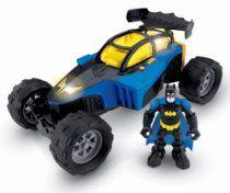 Fisher-Price Hero World DC Super Friends Transforming Batmobile And Batman