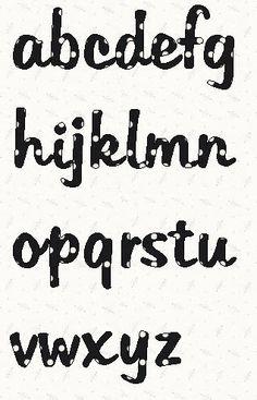 Printable Lowercase Alphabet Letters: Tabitha Font  alphabet template in pdf.