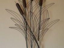 wanddekoration metall schwarz abstrakte wanddekoration metall in ...