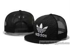 Adidas Breathable Mesh Snapback Hats Black Mesh 020|only US$8.90 - follow me to pick up couopons.