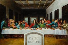 OB Last Supper. Or as I like to call it: The Insanity of a Fandom.