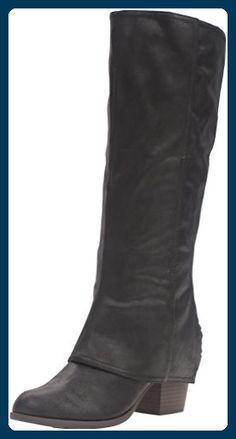 647b47ba12de22 Fergalicious Lundry Damen US 7.5 Schwarz Mode-Knie hoch Stiefel - Stiefel  für frauen (