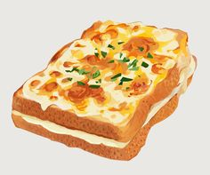 Croque Monsieur by meccchi on DeviantArt