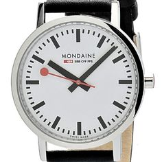 Accurate Mondaine A672.30351.11sbb Simply Elegant Ladies Watch from Mondaine