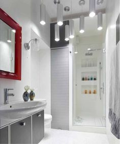 White bathroom idea