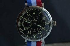 Pilot Watch/ Soviet watch / Russian watch / Mens Wrist Watch