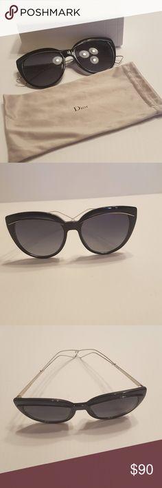 dd7062783f Christian Dior Diorliner RMG HD Sunglasses Cat Eye Christian Dior Diorliner  RMG HD Black