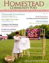 Homesteading Magazine with some really great basic recipes to replace store bought products...and lots of other good stuff!