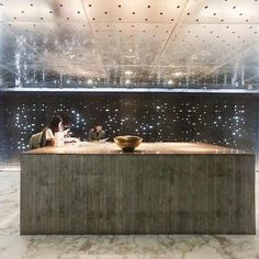 The galactic lobby of the TUVE hotel  Hong Kong #regram from @uwenna