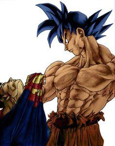 Superman vs Sangoku | Dragon Ball