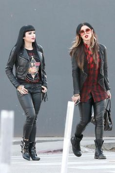 Kat Von D at Urth Caffe on Melrose Avenue in LA 2014-01-13