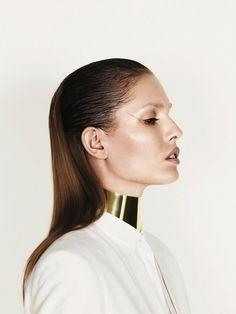 Nadja Bender is Sleekly Modern for Designers Remixs Spring 2013 Campaign by Jens Langkjaer