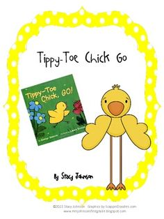 FREEBIE! This is a set of literacy activities to go with the 1st Grade Reading Street story, Tippy-Toe Chick Go!  It has activities for writing and work wor...