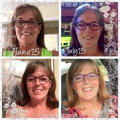 """SO excited for you, Kim, for this incredibly testimony, and to what we see and get to help others experience everyday! """"90 days done and I have never felt better.Daily Greens Berry, Hair Skin and Nails, Confianza, Lip and Eye Cream. Occasional FatFighters, ProFit Shakes, ThermoFit and I just began the New You 90 day challenge. Im only wearing powder blush, mascara, and lip gloss for make-up in the pictures. I love the skin I'm in‼️ Thank you #ItWorks2015"""