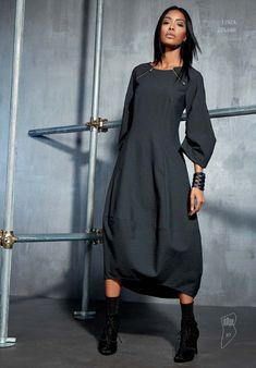 Fashion Mode, Look Fashion, Hijab Fashion, Trendy Fashion, Fashion Dresses, Womens Fashion, Fashion Design, Elegant Dresses, Beautiful Dresses