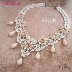 Beading pattern - Necklace 'Selestia' - Trinkets beading