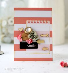Smile Card by Julia