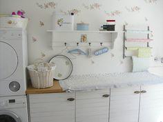 Pünktchenglück: In der Waschküche