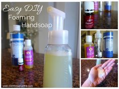 Easy DIY Foaming Handsoap |Overthrow Martha --- I have all the ingredients already!