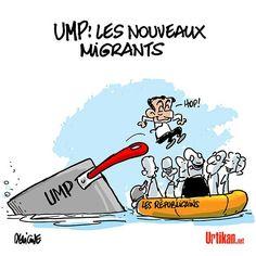 Les nouveaux migrants sont arrivés