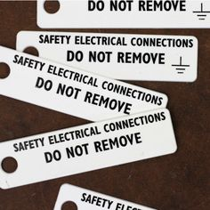 SAFETY ELECTRICAL CONNECTIONS:CDC webstore