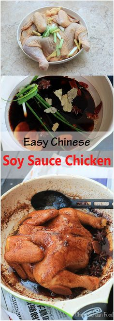 Easy Chinese Soy Sauce Chicken | China Sichuan Food