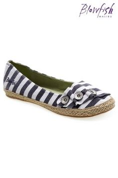 Blowfish shoes, I have these in grey & black..my fave flats