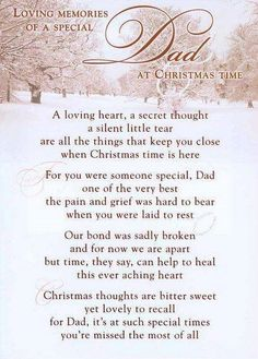 DADDY!!!!!! This will be our first Xmas without you! It will never be the same. We miss you unconditionally. Happy Xmas, joining our Jesus in Heaven by His side on this special day!!!!! LOVE YOU FOREVER AND ALWAYS!!!! LALA-SENTLHE