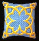 """Medieval-square Tapestry Kit for a cushion18"""" by 18"""""""