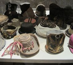Hats for puppets by Maurice and George Sand.
